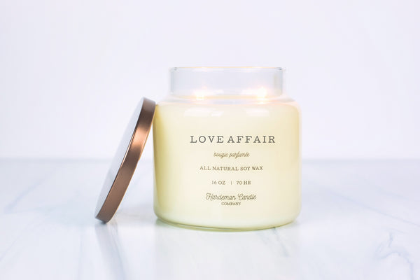 Love Affair 16 oz Soy Candle - Hardeman Home