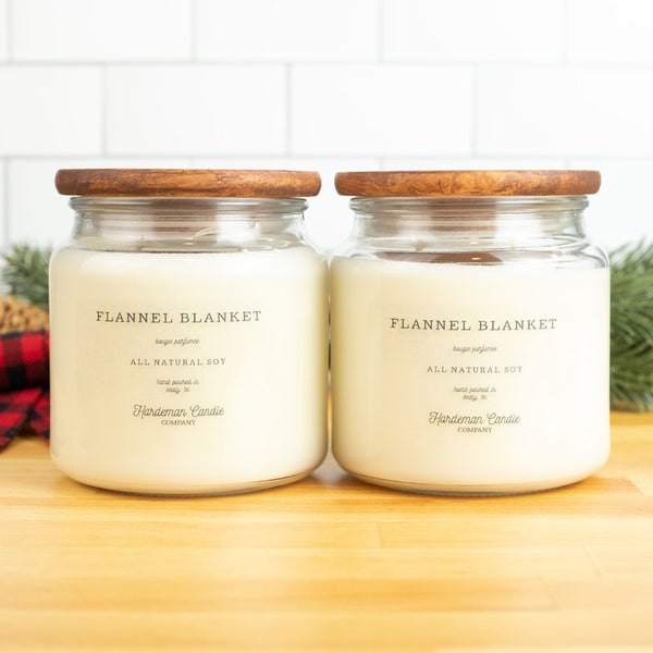 Flannel Blanket Bundle - Hardeman Candle Co.