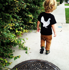 Yardbird HK Kids Crew (Black/White)
