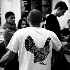 Yardbird HK Cotton White Crew
