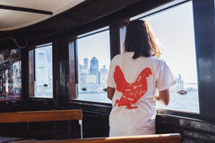 Yardbird Anatomy White Crew