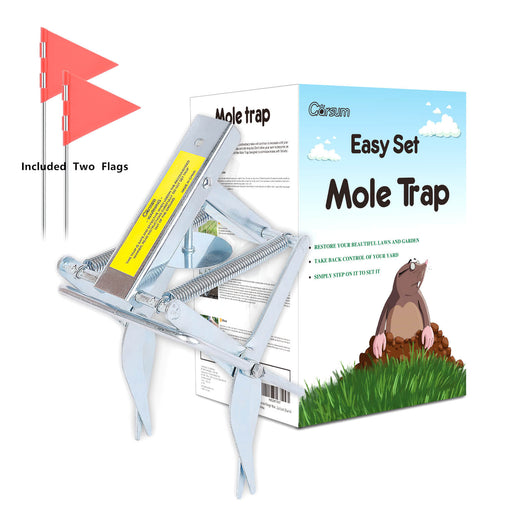 Plunger Mole Trap Reusable Quick and Clean Kill
