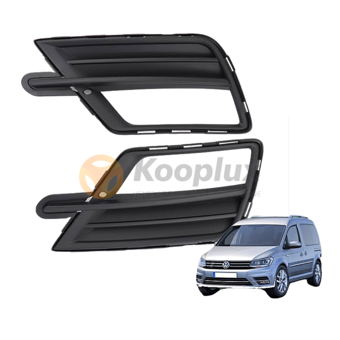 Kooplux Grille Phare Secoure Volkswagen Caddy 2016 + Volkswagen