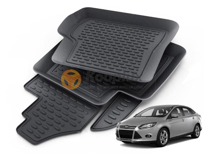 Tapis sur mesure 3D ford focus old - KOOPLUX