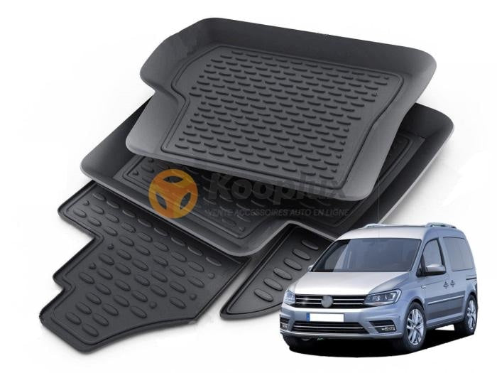 Tapis sur mesure 3D VW caddy - KOOPLUX