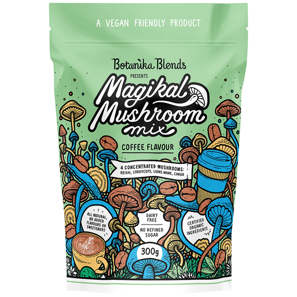 BOTANIKA BLENDS Magikal Mushroom Mix Coffee - 300g