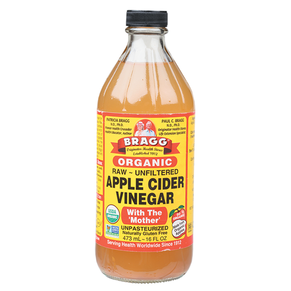 BRAGG Apple Cider Vinegar Unfiltered & Contains The Mother - 473ml