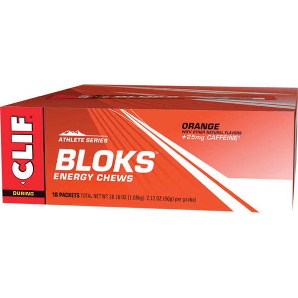 CLIF® BLOKS™ Energy Chews: Orange Flavour