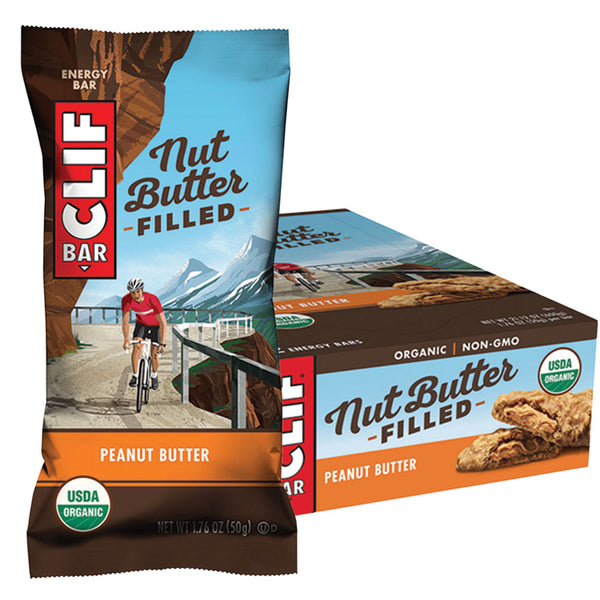 CLIF® Nut Butter Filled Energy Bar: Peanut Butter Flavour