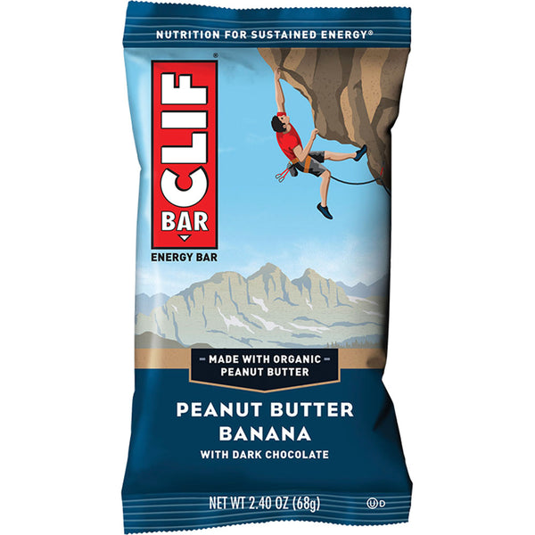 CLIF BAR®: PEANUT BUTTER BANANA & DARK CHOC