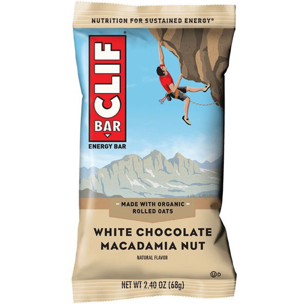 CLIF BAR®: WHITE CHOC MAC