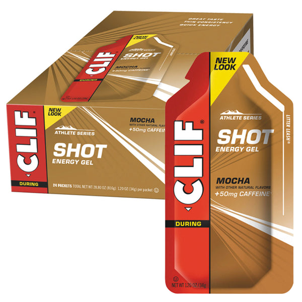 CLIF® SHOT® Energy Gel: Mocha Flavour