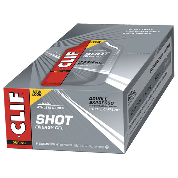 CLIF® SHOT® Energy Gel: Double Expresso Flavour