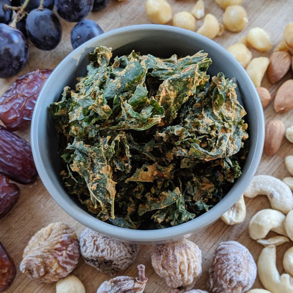 EXTRAORDINARY FOODS Kale Chips Garlic and Spices - 45g