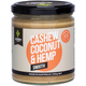 ESSENTIAL HEMP GROUNDED Natural Nut Butter Cashew Coconut & Hemp Smooth - 250g