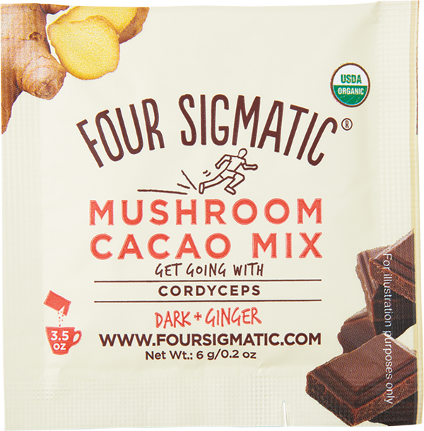 FOUR SIGMATIC | MUSHROOM HOT CACAO WITH CORDYCEPS