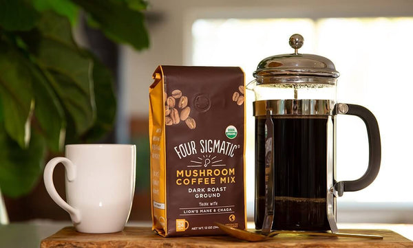 FOUR SIGMATIC | GROUND MUSHROOM COFFEE
