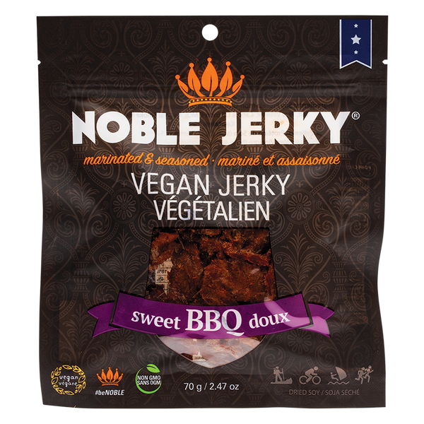 NOBLE JERKY | SWEET BBQ