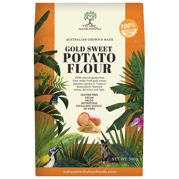 NATURAL EVOLUTION Gold Sweet Potato Flour 300g