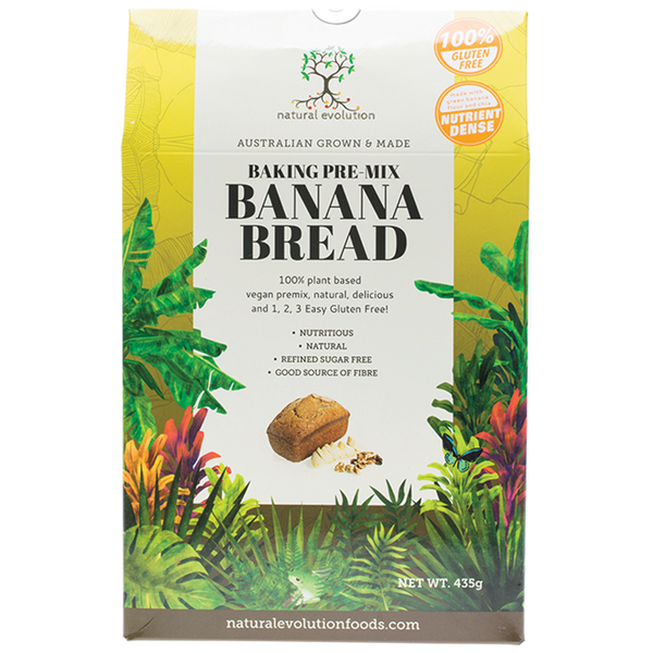 NATURAL EVOLUTION Banana Bread Mix 435g