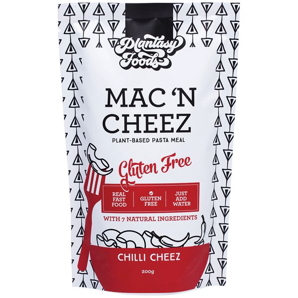 PLANTASY FOODS Mac n Cheez - Chilli Cheez - 200g