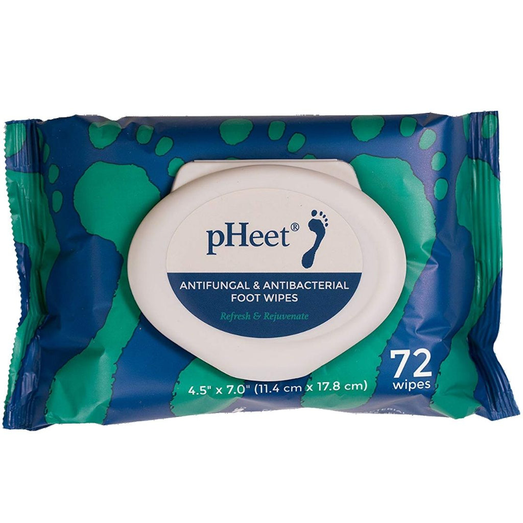 pHeet® Foot Wipes: 1 Pack (1-Month Supply)