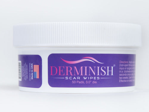 Derminish Healing Scar Wipes for Removal of All Scars