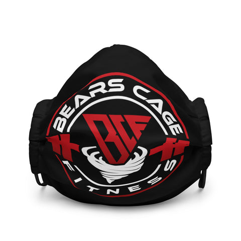 Black BCF Logo Facemask