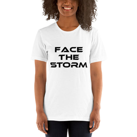 "Women's Light Color ""Face The Storm"" Tee"