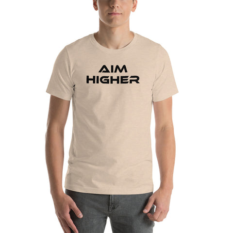 "Men's Light Color ""Aim Higher"" Tee"