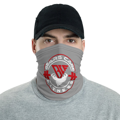 Gray Face Mask & Neck Gaiter