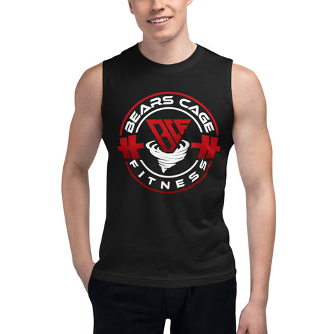 Men's Dark Color Muscle Shirt