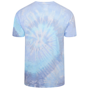 'Isolation Diaries' Tie-Dye T-Shirt - Blue