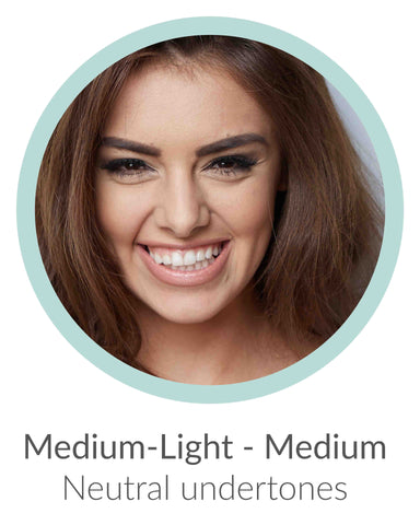 medium light neutral undertones