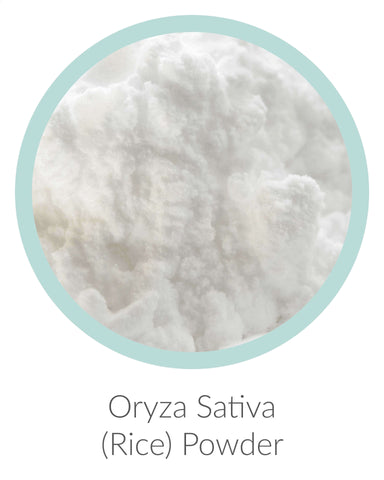 oryza sativa (rice) powder