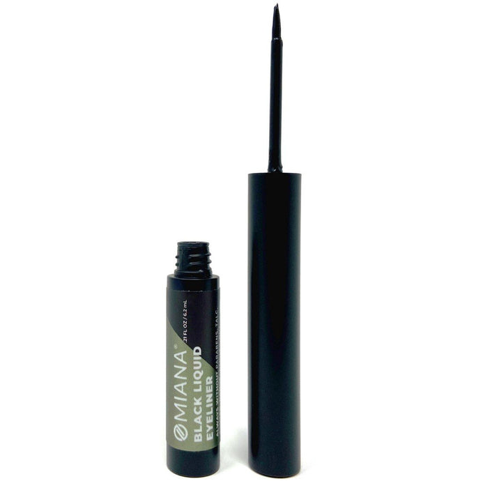 No-smudge eyeliner without mica