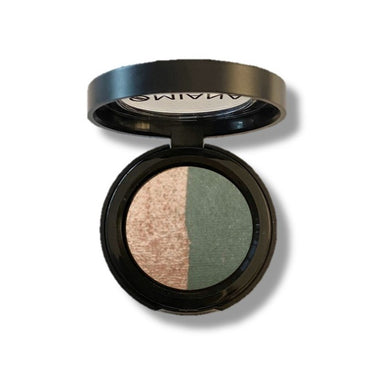 Creamy Baked Mineral Eyeshadow Duos with Botanicals