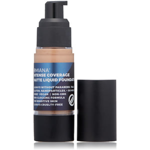 Intense Coverage Matte Liquid Foundation - No Mica, Ultramarines, & More