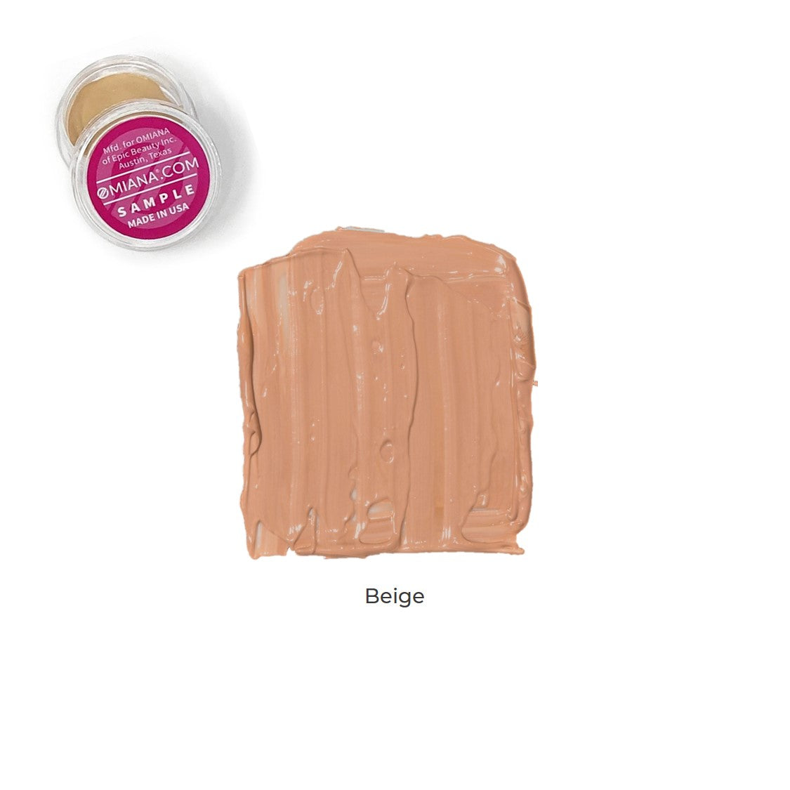 Velvet Matte Liquid Foundation Sample - Beige