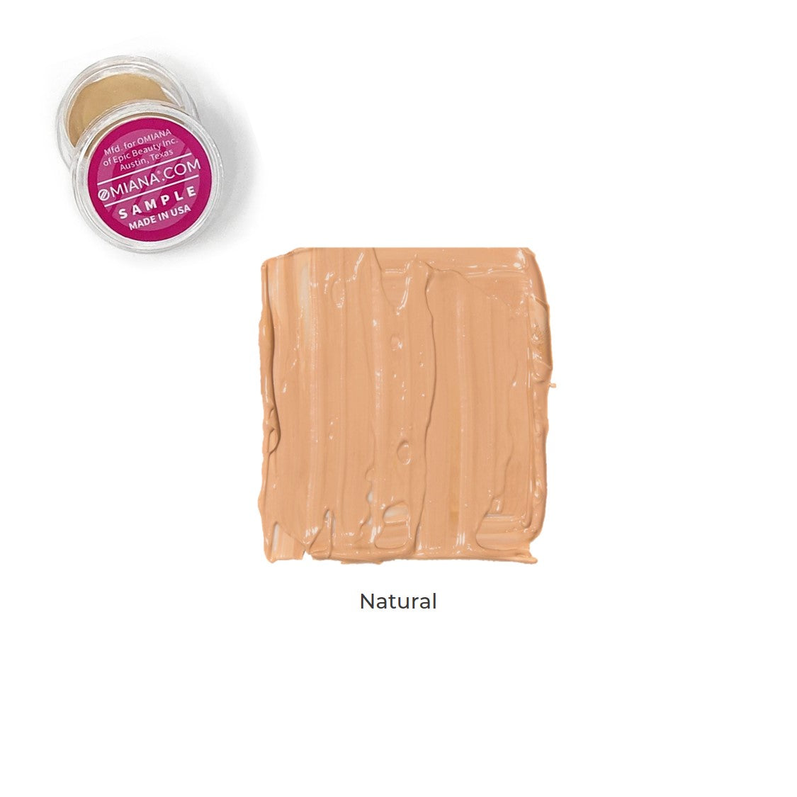Velvet Matte Liquid Foundation Sample - Natural