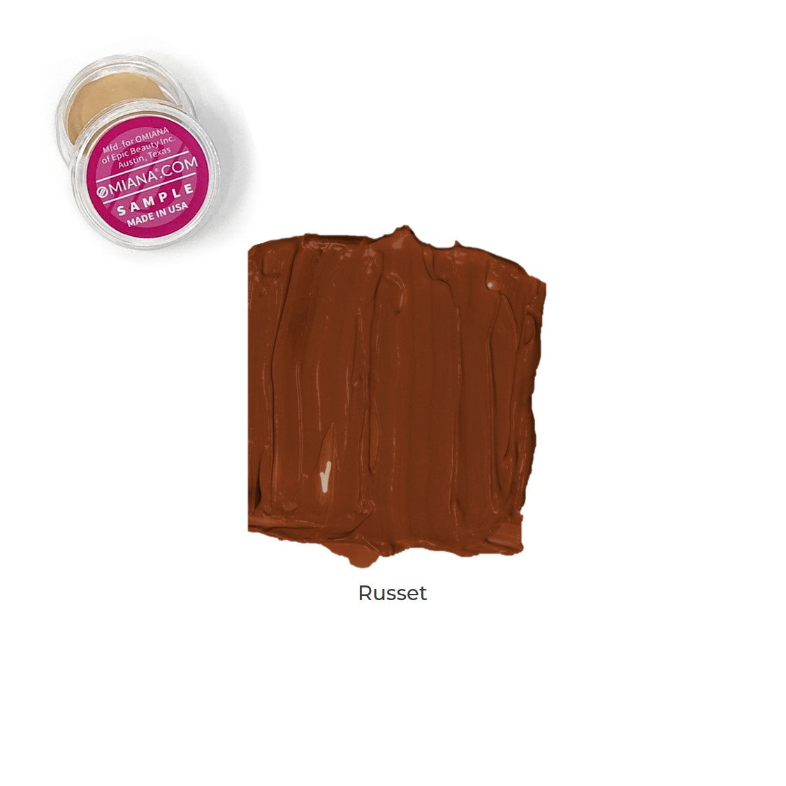 Velvet Matte Liquid Foundation Sample - Russet