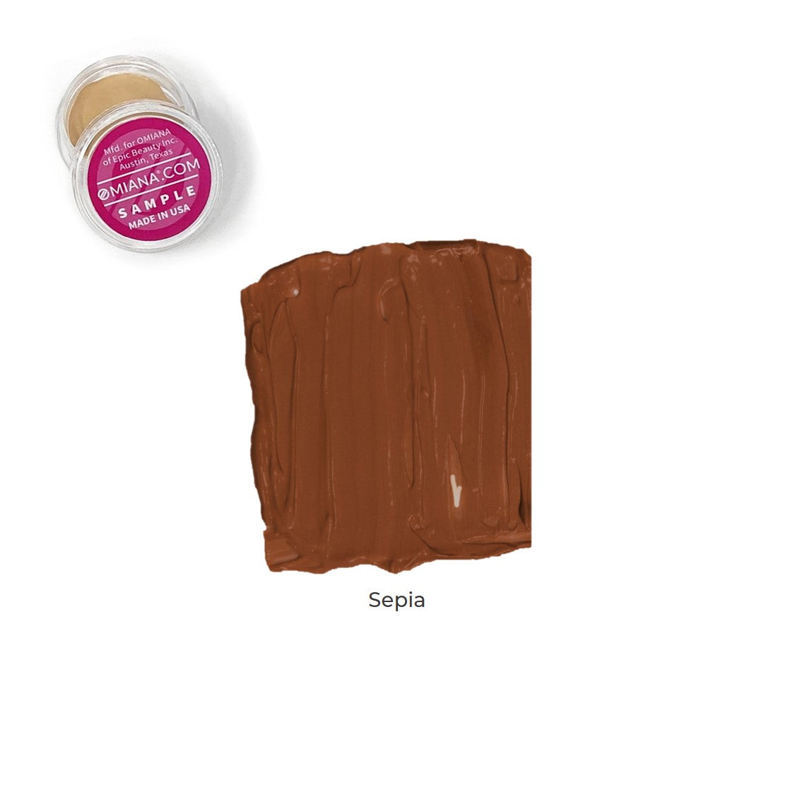 Velvet Matte Liquid Foundation Sample - Sepia