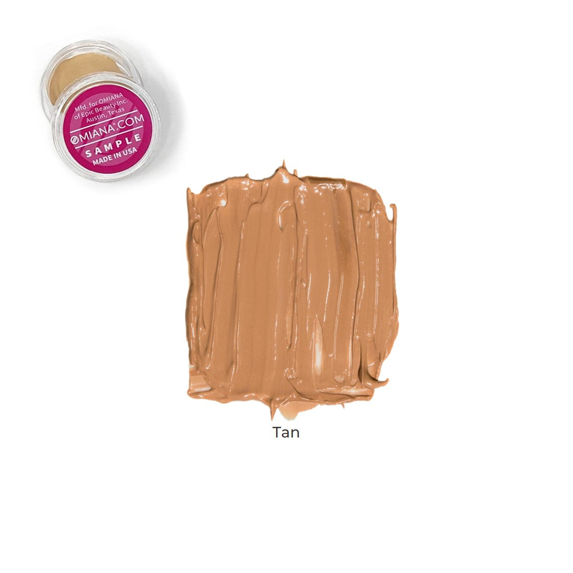 Velvet Matte Liquid Foundation Sample - Tan