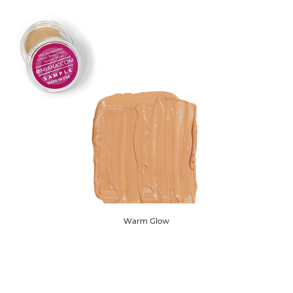 Velvet Matte Liquid Foundation Sample - Warm Glow