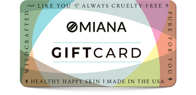 omiana cosmetics natural and mineral cosmetics and skincare gift card