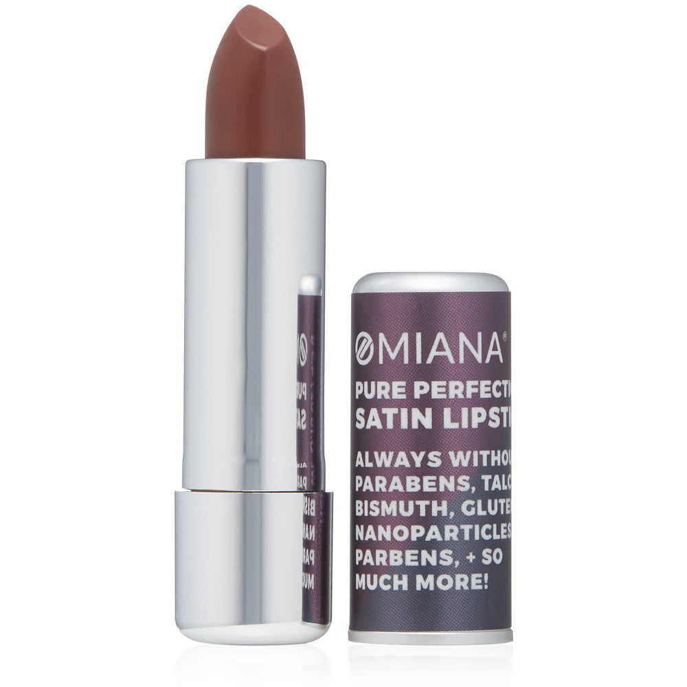 Pure Perfection Satin Lipstick - Titanium Dioxide-Free + Mica-Free Options