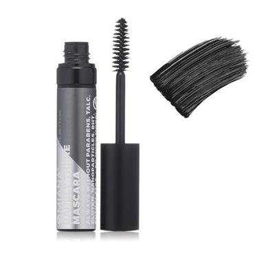Omiana Barely There Mascara. Jet-black mineral mascara conditions the lashes with a vitamin B complex. Titanium dioxide-free. Mica free.