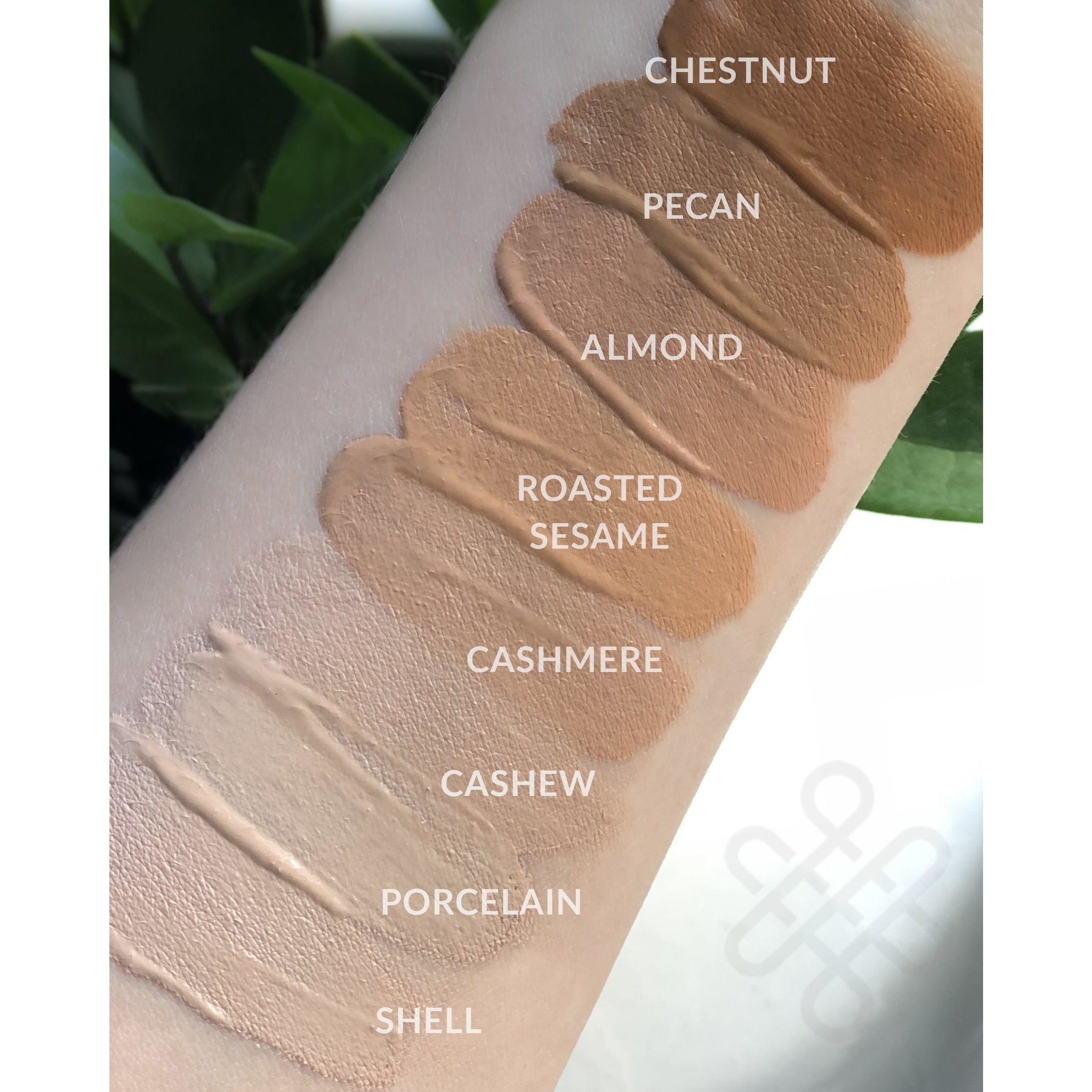 makeup artist swatches