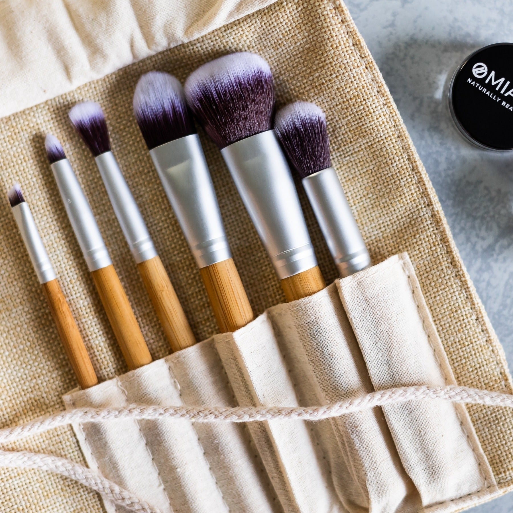 Vegan Makeup Brushes for Mineral Cosmetics