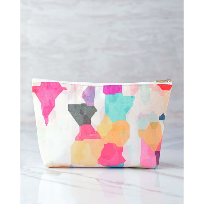 Omiana In My Head USA-Made Cosmetic Bag
